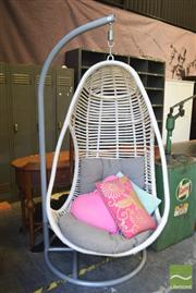 Sale 8390 - Lot 1322 - Cocoon Chair on Stand