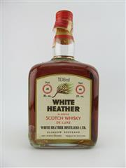 Sale 8403W - Lot 92 - 1x White Heather Blended Scotch Whisky - 1136ml, old bottling