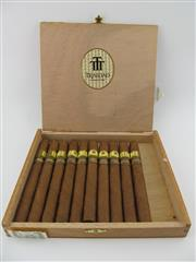Sale 8423 - Lot 628 - 10x Trinidad Ingenios Cigars, Cuba - 2007 Edicion Limitada in original wood box marked OCT 07