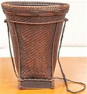Sale 8976H - Lot 75 - A Japanese Ikebana woven basket Height 31cm