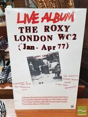Sale 8421 - Lot 1054 - Vintage and Original London WC2 Live Album Promotional Poster (76cm x 51cm )