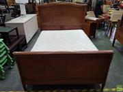 Sale 8585 - Lot 1716 - French Bed Frame with Ormolu Mounts