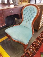Sale 8601 - Lot 1288 - Carved Timber Grandmothers Chair