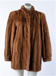 Sale 9003F - Lot 5 - A SAGA Scandinavian Mink Coat, size S-M