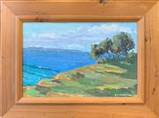 Sale 8964 - Lot 2042 - Christine Crimmins En Plein Aire oil on canvas on board, 31 x 40.5cm (frame), signed lower right