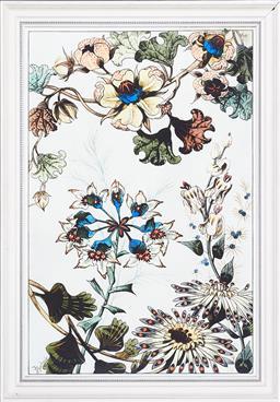 Sale 9200P - Lot 33 - J. Buchert - Fleurs de Fantasie