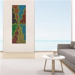 Sale 9171A - Lot 5094 - CHEROLYN GIBSON NAMPIJINPA (1992 - ) Bush Banana and Bush Medicine acrylic on canvas 201 x 72 cm (stretched and ready to hang) signe...