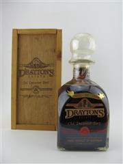 Sale 8403W - Lot 93 - 1x Draytons 21YO Old Decanter Port, Hunter Valley - in timber box