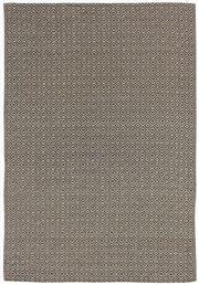 Sale 8651C - Lot 86 - Colorscope Collection; Flatweave Woven Leather/Wool Choc/Diamonds Rug, Origin: India, Size: 160 x 230cm, RRP: $899