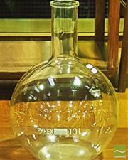 Sale 8364 - Lot 1040A - Pyrex 10L Short Ring Neck Boiling Flask