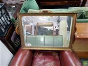 Sale 8611 - Lot 1055 - Gilt Framed Mirror