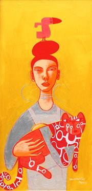 Sale 8764A - Lot 5056 - Constantine Popov (1965 - ) - Nobody Loves You The Way I Do 58.5 x 28.5cm