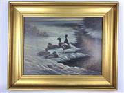 Sale 8607R - Lot 54 - Arling - Oil on Canvas (29 x 38cm)