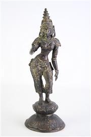 Sale 8840 - Lot 32 - Bronze Figure of a Deity (H29cm)