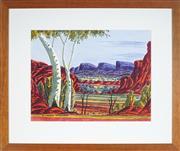 Sale 9070H - Lot 19 - Richard Forrester (1938 - ) - Twin Gums 32.5 x 43 cm (frame: 55 x 65 x 2 cm)