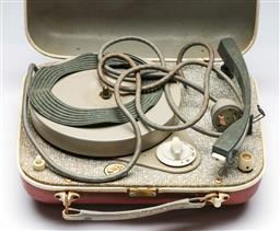 Sale 9156 - Lot 97 - A HMV portable 45 player