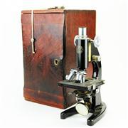 Sale 8387 - Lot 76 - London C. Baker Microscope