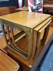 Sale 8705 - Lot 1019 - 1960s Teak Nest of Tables