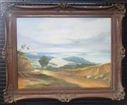 Sale 9053 - Lot 2025 - Joseph A. Frost - Coastal Scene, oil on board, SLR