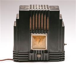 Sale 9122 - Lot 58 - The Fisk AWA Bakelite Radio (H:28cm W: 28cm D: 16cm) (untested)