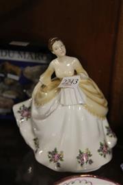 Sale 8336 - Lot 34 - Royal Albert Figure Linda