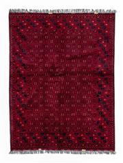 Sale 8800C - Lot 82 - A Vintage Afghan Kunduzi 100 % Wool Pile, 149 x 297cm
