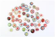 Sale 8806 - Lot 38 - Collection of Tin Bucks (50)