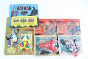 Sale 8827T - Lot 659 - Collection of Vintage Batman Toys And Playing Cards