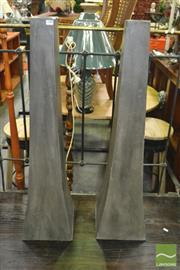 Sale 8398 - Lot 1038 - Pair of Composite Vases