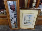Sale 8441T - Lot 2092 - 2 Framed Pictures