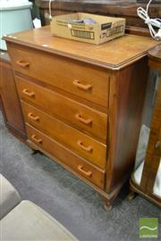 Sale 8507 - Lot 1046 - Timber Chest of Drawers