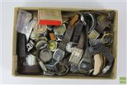 Sale 8512 - Lot 18 - Box of Various Watch Parts