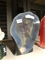 Sale 8789 - Lot 2374 - Agate and Amethyst Examples