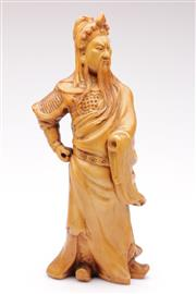 Sale 9060 - Lot 83 - A Composite Figure of A Warrior (Missing Hand H 35cm)