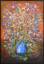 Sale 8297 - Lot 565 - Kym Hart (1965 - ) - Still Life 150 x 100cm