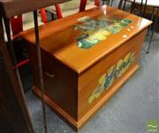 Sale 8480 - Lot 1122 - Pine Toy Box