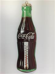 Sale 8579 - Lot 2 - An original Coca Cola thermometer, with some surface rust, Made in USA, 41 x W 12cm