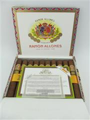 Sale 8423 - Lot 630 - 10x Ramon Allones Club Allones Cigars, Cuba - 2015 Edicion Limitada in original wood box marked OCT 15