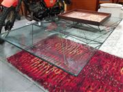 Sale 8476 - Lot 1047 - B&B Italia Metal Based Coffee Table with Glass Top
