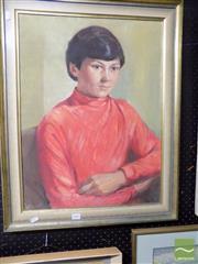 Sale 8461A - Lot 2041 - Lynette Lee Peter, framed oil on board, 60 x 45cm, signed lower left