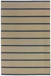 Sale 8651C - Lot 93 - Colorscope Collection; 90% Recycled Paper 10% Cotton - Natural/Black Rug, Origin: India, Size: 200 x 300cm, RRP: $999