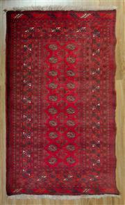 Sale 8672C - Lot 81 - Afghan Qunduzi 184cm x 105cm