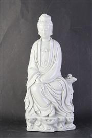 Sale 8815C - Lot 60 - Blanc de Chine Figure of Gunayin (H 37cm)