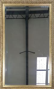 Sale 8971 - Lot 1033 - Gilt Framed Mirror (130 x 77cm)