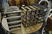 Sale 8398 - Lot 1053 - Set of 3 Wine Racks