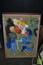 Sale 8458 - Lot 2051 - A group of (2) paintings by Dorothy Juknaitis (each signed, various sizes, framed)