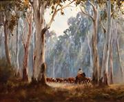 Sale 8575 - Lot 527 - Kevin Best (1932 - 2012) - Highland Muster 49.5 x 60cm