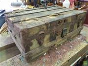 Sale 8601 - Lot 1166 - Vintage Travel Trunk