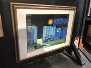 Sale 8824 - Lot 2018 - Rosina Wachtmiester Decorative Print 70 x 97cm (frame)