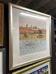 Sale 8878 - Lot 2067 - Clement Millward - Red Dune 58.5 x 59.5 cm